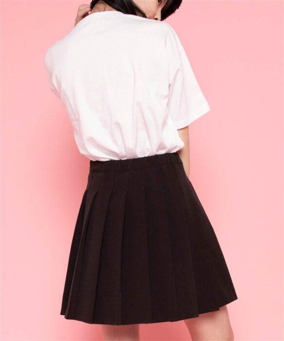 Hinanon プリーツミニスカート